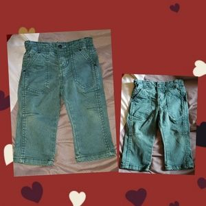 Other - SOLD! Toddler/Baby size 12 months! Green Jeans!